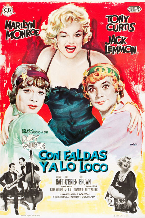 Con faldas y a lo loco (Billy Wilder, 1959)