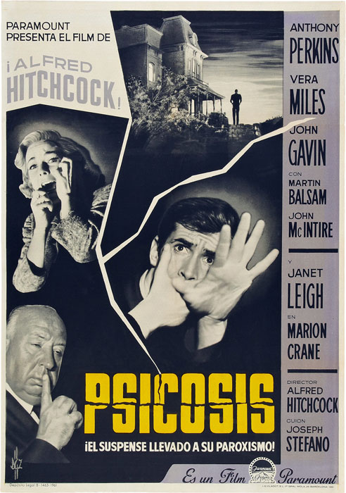 Psicosis (Alfred Hitchcock, 1960)