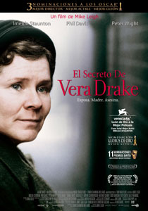 El secreto de Vera Drake (Mike Leigh, 2004)