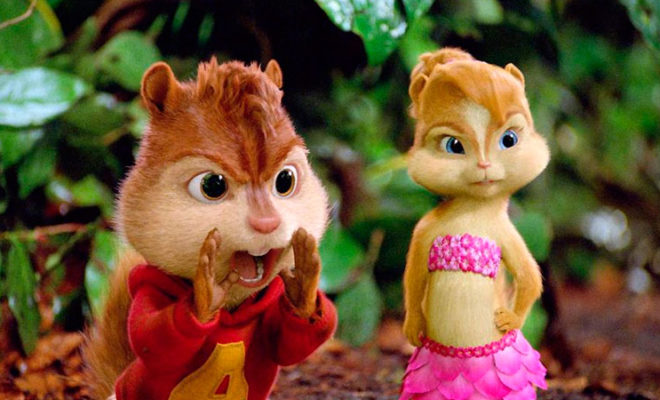 Alvin y las ardillas 3 (Mike Mitchell, 2011)