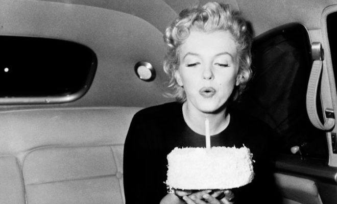 Happy birthday, Marylin